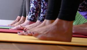 Feet at Flow Tunbridge Wells