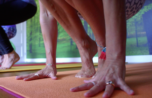 Yoga Feet at Flow Tunbridge Wells