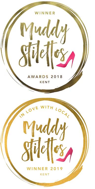 Winner in the Muddy Stilettos Awards 2018 and 2019