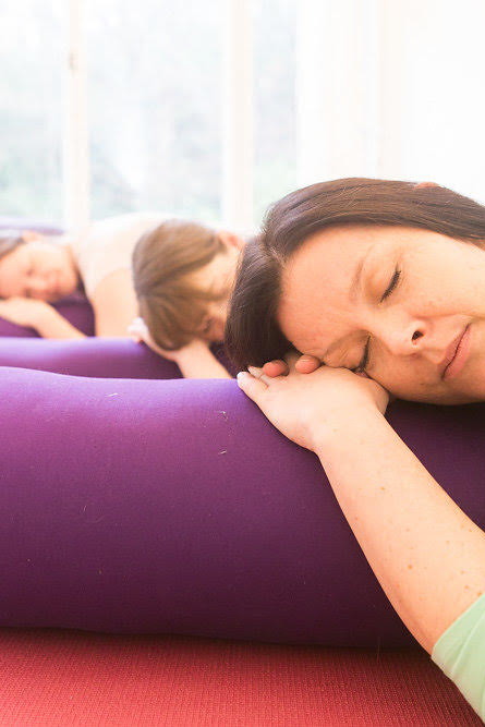 Relax at Flow pregnancy yoga